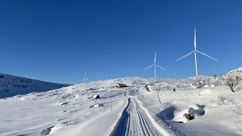 Fine skiforhold på Guleslettene